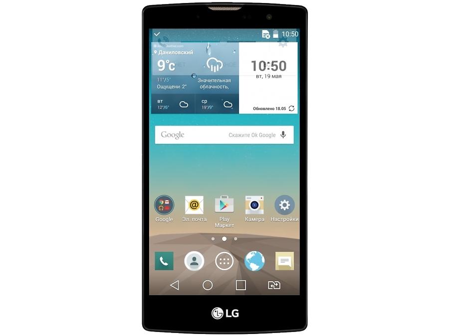 Смартфон LG Magna H502 Dual Sim Black Gold