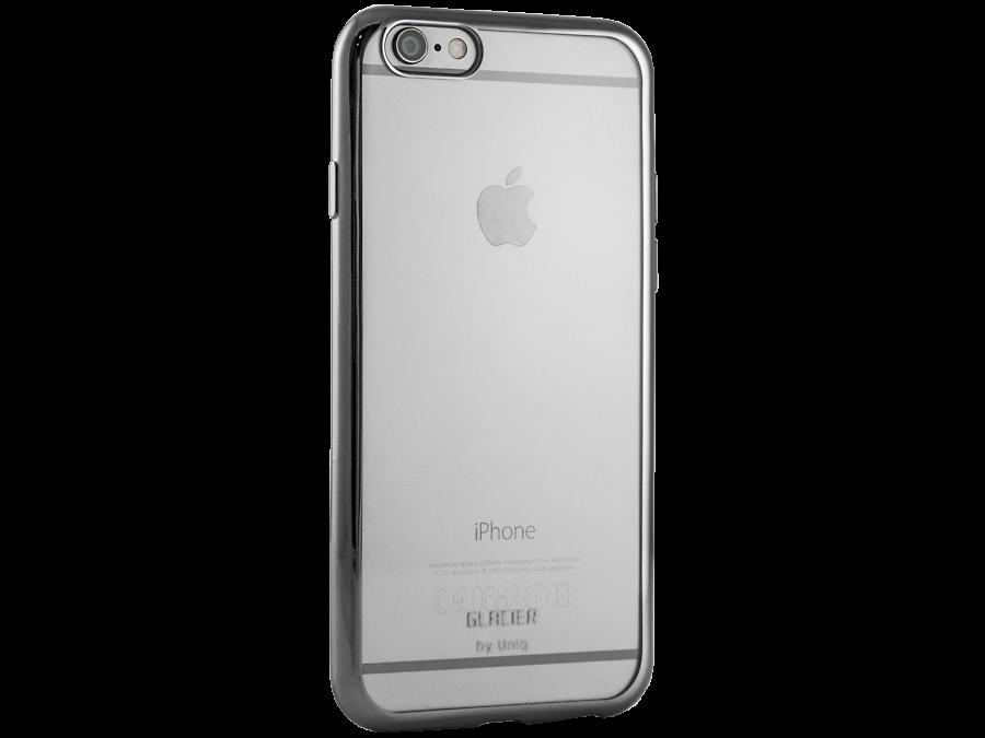 Бампер Uniq Glacier Glitz для Apple iPhone 6, силикон, серый