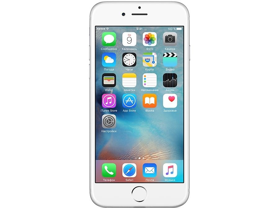 Смартфон Apple iPhone 6 16GB Silver восстановленный