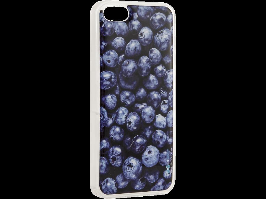 "Чехол-крышка Ice Twice ""Черника"" для Apple iPhone 5/5S, силикон"