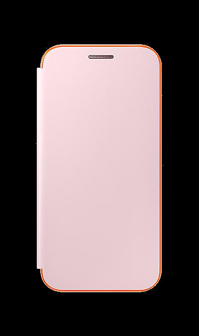 Чехол-книжка Samsung для Samsung Galaxy A3 (2017), полиуретан, розовый