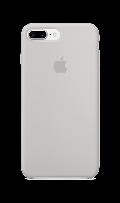Чехол-крышка Apple для Apple iPhone 7 Plus, силикон, серый