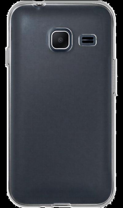 Чехол-крышка Inter-Step для Samsung Galaxy J1 Mini, силикон, прозрачный