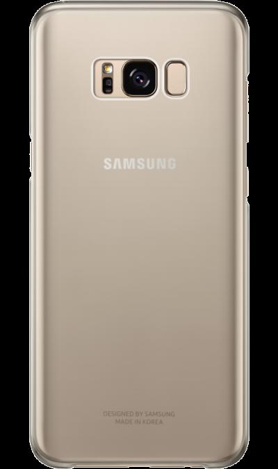 Чехол-крышка Samsung для Galaxy S8, пластик, золотистый