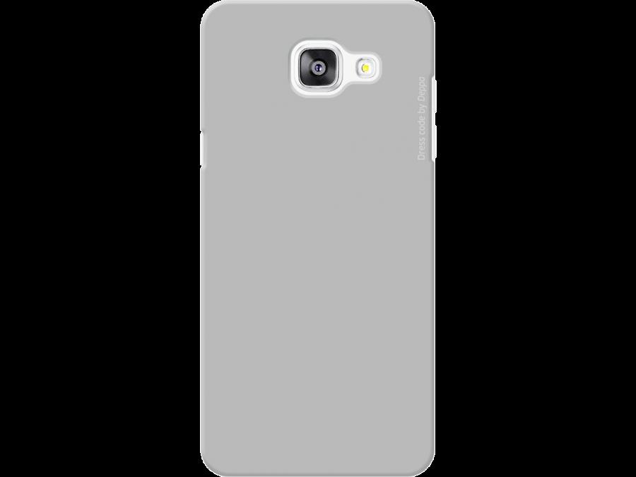 Чехол-крышка Deppa для Samsung Galaxy A5 (2016), пластик, серый